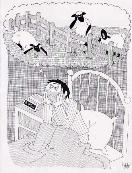 Les insomnies peuvent se traduire de diverses façons : difficultés à s'endormir…