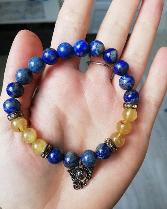 Bracelets de pierres naturelles à 14€ envoi par la poste possible.  Vous