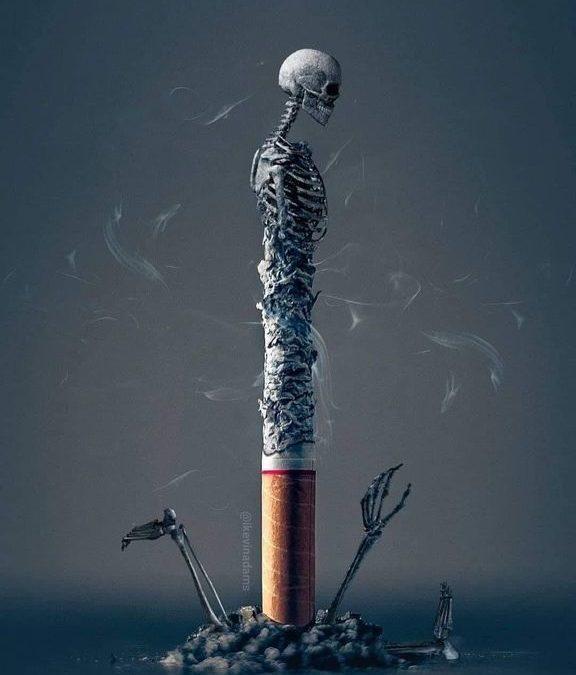 Venez en finir avec le tabac, avec cette DÉPENDANCE.